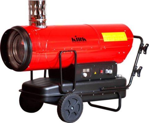 аренда тепловой пушки непрямого нагрева Kirk IND-80